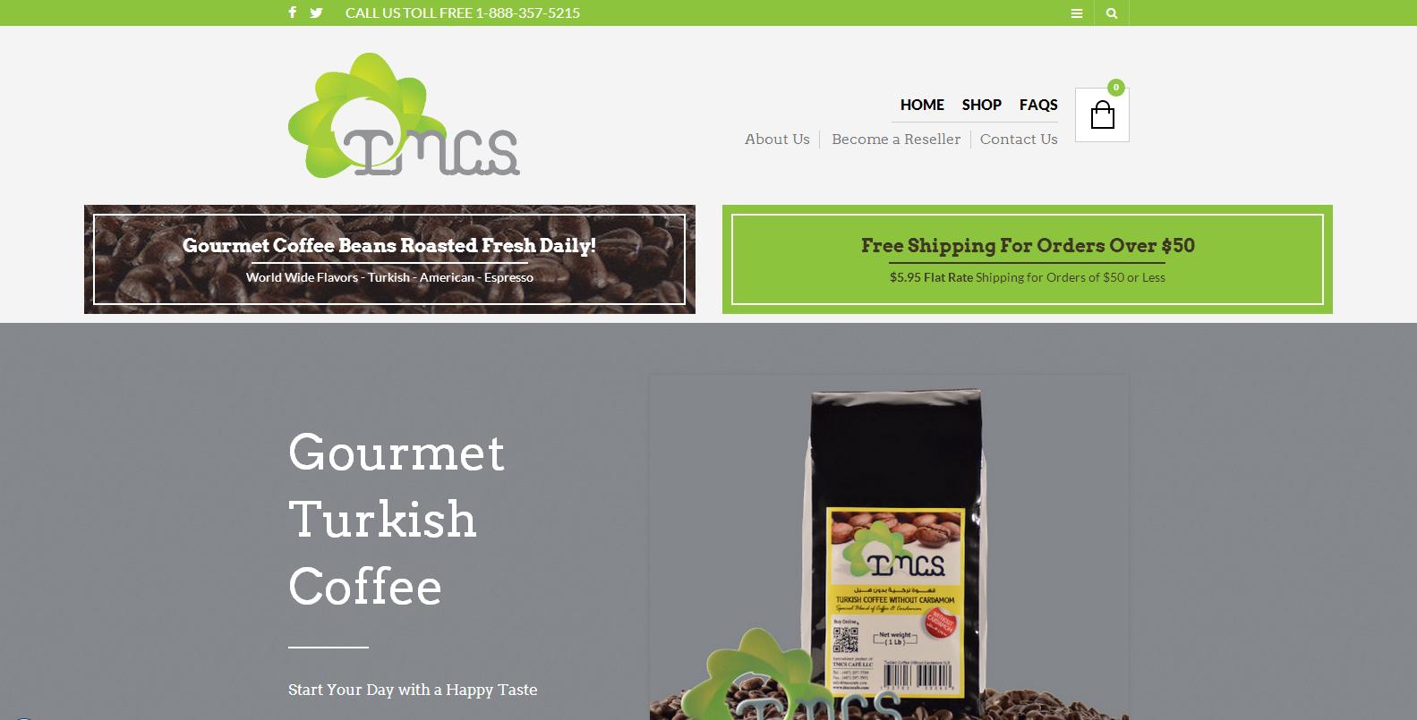 TMCS Gourmet Turkish Coffee